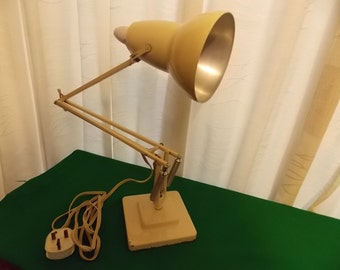 Herbert Terry Anglepoise Lamp in Cream