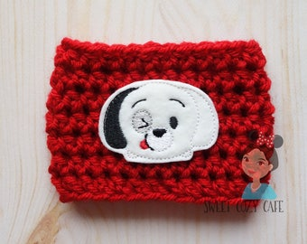101 Dalmation Inspired Coffee Cup Cozy