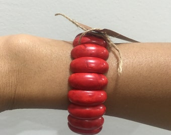 Red fashion bangle