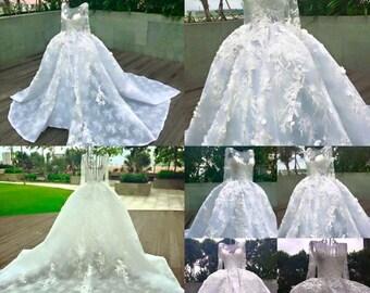 Royal wedding dress Hacchic Bridal