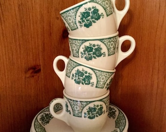 Syracuse Demitasse Cups and Bread Plates or Saucers | Restaurant-ware | Wakefield Green