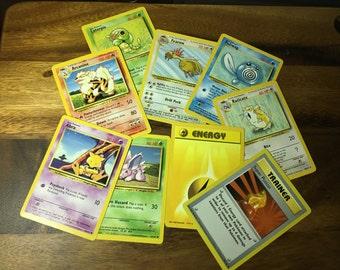 10 Random Pokemon Cards