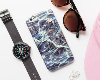 Water iPhone Case - iPhone 6 Case, Ocean iPhone 6 Case, Silver Waves iPhone Case, Minimalist iPhone Case, Wavy iPhone Case Indie iPhone Case