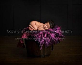 2 Newborn Digital backdrop / background / Girl & Boy
