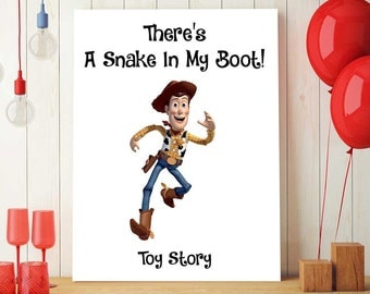 Toy Story Printables, Disney Quotes Print, Toy Story Woody, Toy Story Nursery Decor, Pixar Wall Art, Kids Wall Art