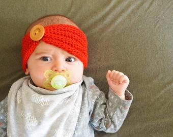 Hand-Knit Baby Headband