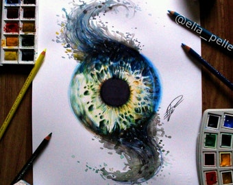 fade Iris - Signed Prints