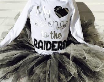 Raiders tutu outfit
