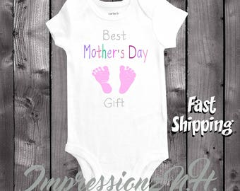 Cute baby onesie- Best Mother's Day Gift onesie - Mother's Day shirt