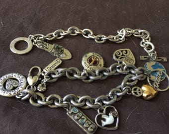 Vintage Brighton Bracelets with Charms