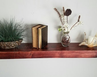Shipping included - Floating Wood Shelves - Fireplace Mantel