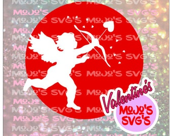 Cupid SVG file for Tshirts, mugs, etc SVG Cuttable Layered Design File for Cricut or Silhouette svg instant download clean cutting file