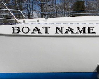 Kayak Vinyl Decal Sticker Kayak Name Stickers Custom Boat - Decals for boats canada