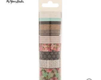 Hobby Lobby- the paper studio.Floral Washi Tape Tube