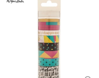 Hobby Lobby- the paper studio-Bright & Gold Washi Tape Tube