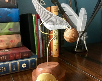 Golden Snitch Most detailed Version with stand