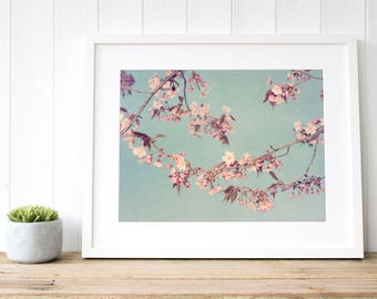 Blossom art print, blossom print, blossom art, blossom wall art, blossom home decor, blossom fine art photography, blossom large prints