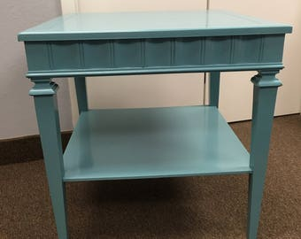 Blue Sky Side Table