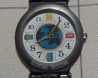 Vintage Geneva Watch thin Boom Boom