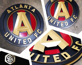 Custom Atlanta United Sign - Custom Metal Sign