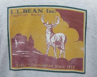 Vintage L.L. Bean great design tshirt