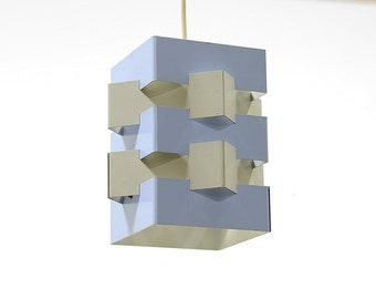 Vintage pendant light by J.J.M. Hoogervorst, Holland. Great condition from the 1960s.