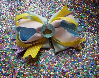 Birthday Hair Bow