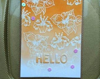 Birthday card, greeting card
