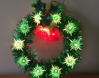 Beacon 12 Light Bell Wreath