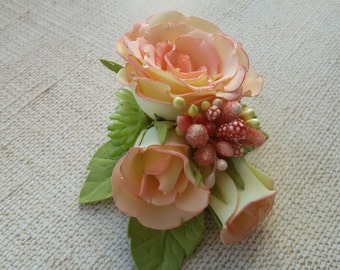 Rose Composition Hairclip