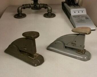 Vintage Stapler, Vintage Swingline Stapler, Office stapler, Small desk stapler, Metal Stapler, 1-available, Made in USA, Vintage office accy