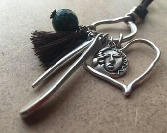 Ethnic Necklace, Bohemian Look, Accessories, Pendants