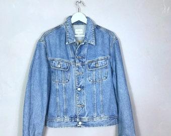 Calvin Klein vintage jeans denim jacket - ck - jeans - 80ies - washed