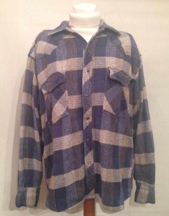 Vintage flanell shirt cotton EV3.