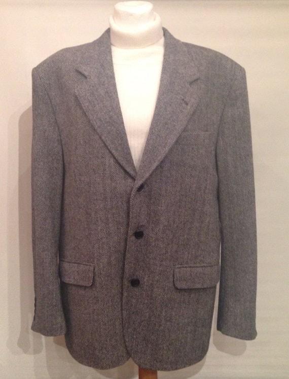 Grey wool blazer EV4.