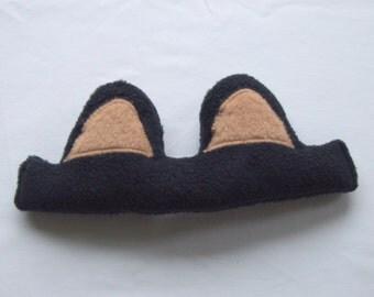 Kid's Bear Ears - Black Bear Ears - Bear Ear Headband
