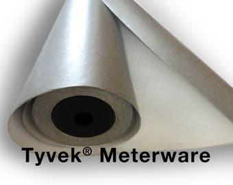 Tyvek sided silver metre width 100 cm, 1 m