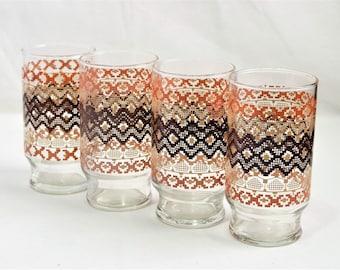 Set of 4 dinner glasses/ Dinner Glasses