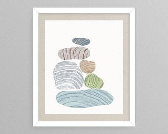 Formation III - Nature Decor- Nature Gifts- Natural Gifts- Prints for Decor- Nature Art- Rock Art -Rocks -Geode -Boho -Eclectic -Rock -Rocks