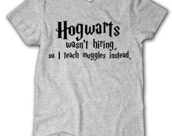 Harry Potter funny Hogwarts Teacher T-shirt