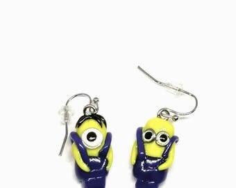 Minions earrings