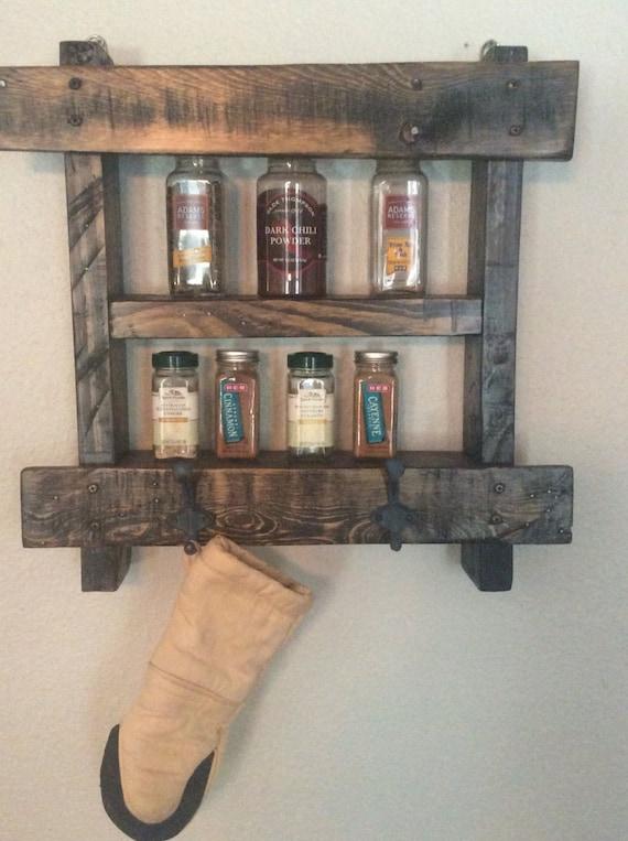 Reclaimed wood spice rack, versatile shelf, reclaimed wood, spice rack, bathroom shelf, gifts for her, home sweet home