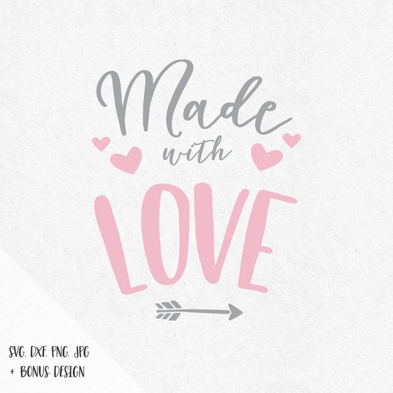 Can T Buy Me Love Quotes: Made With Love Svg Valentine Svg Sayings Svg By SVGbyIdearia