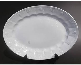 1800's Large White Ironstone Platter