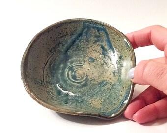 Petite Ceramic Spoon Rest