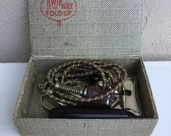Kwikway Folding travel iron