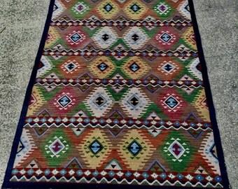 Wool Handmade Rug  Large