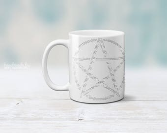 Wiccan Rede | Wiccan Rede Mug | Wicca Inspired Coffee Mug | Gift for Wiccans | Witchcraft Coffee Mug