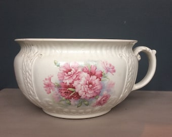 Vintage 1800s Grimwade Brothers Chamber Pot / Planter