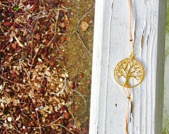 Elegant Gold TREE OF LIFE Bracelet